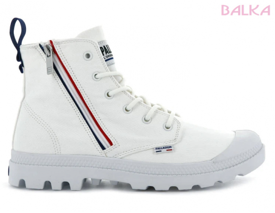 Pampa french out zip blanc