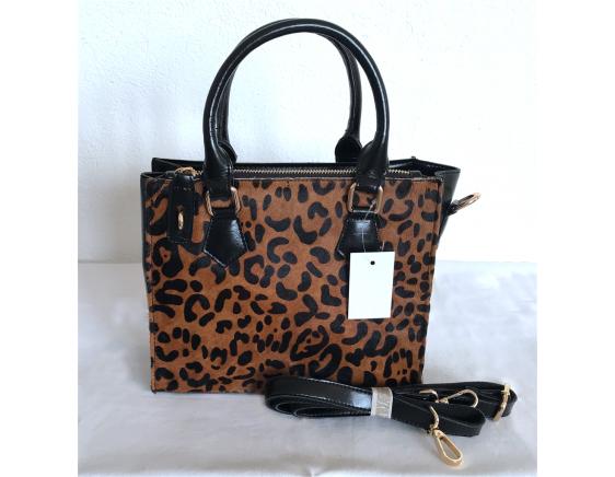 Mel007 noir/léopard