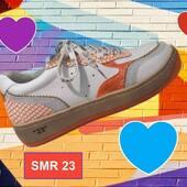 Colorez votre week-end avec cette paire de SMR 🌈🌈🧡🧡🧡 #sneakers #chaussuresfemme #shoesaddict #SMR @semerdjianchaussures @balka.fr