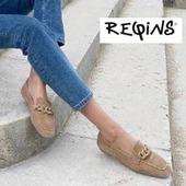 Pour continuer ce printemps pluvieux, Reqins nous propose le mocassin Holding  avec ses jolis anneaux brillants 💛💛💛 #mocassins #fashion #WomenShoes #souple #printemps Reqins