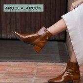 Ce boots vernis à petit talon ne vous quittera plus ! Coup de cœur garanti 💛💛💛💛💛 #modeaddict #womenshoes #onadore #fashion #autumn21 Ángel Alarcón www.balka.fr